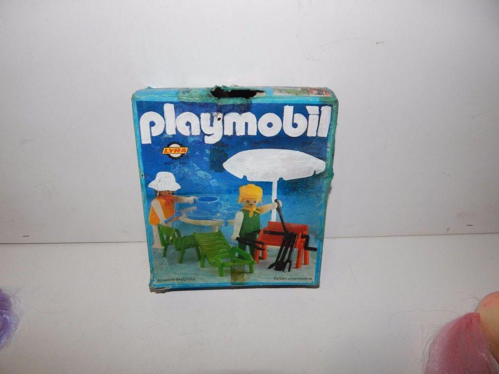 Playmobil 3L82-lyr - Gartenmöbel-Set - Zurück