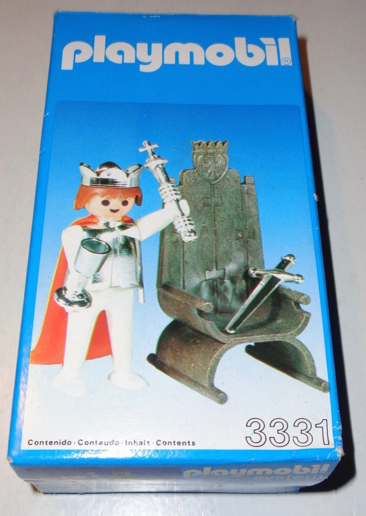 Playmobil 3331-esp - king and trone - Box