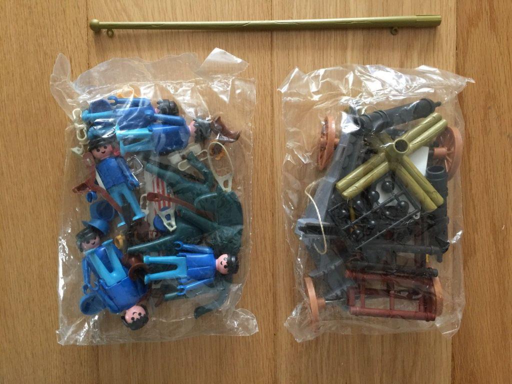 Playmobil 8005-lyr - artillery western - Back
