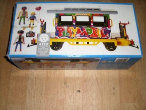 Playmobil 4118v2 - Graffiti Car - Box