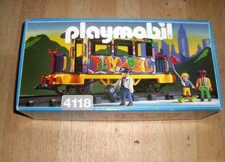 Playmobil - 4118v2 - Graffiti Car