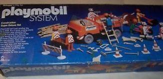 Playmobil - 013s2-ken-sch - Construction Super Deluxe Set