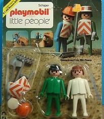 Playmobil - 014s2v3-sch - Construction Workers