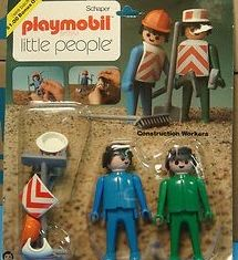 Playmobil - 014s2v4-sch - Construction Workers