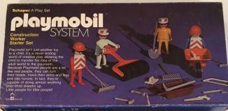 Playmobil - 016-sch - Construction Workers Starter Set