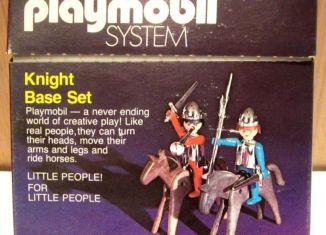 Playmobil - 037-sch - Knight Base Set