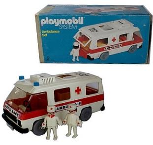Playmobil 057-sch - Ambulance Set - Box