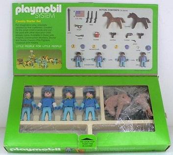 Playmobil 061-sch - Cavalry Starter Set - Back