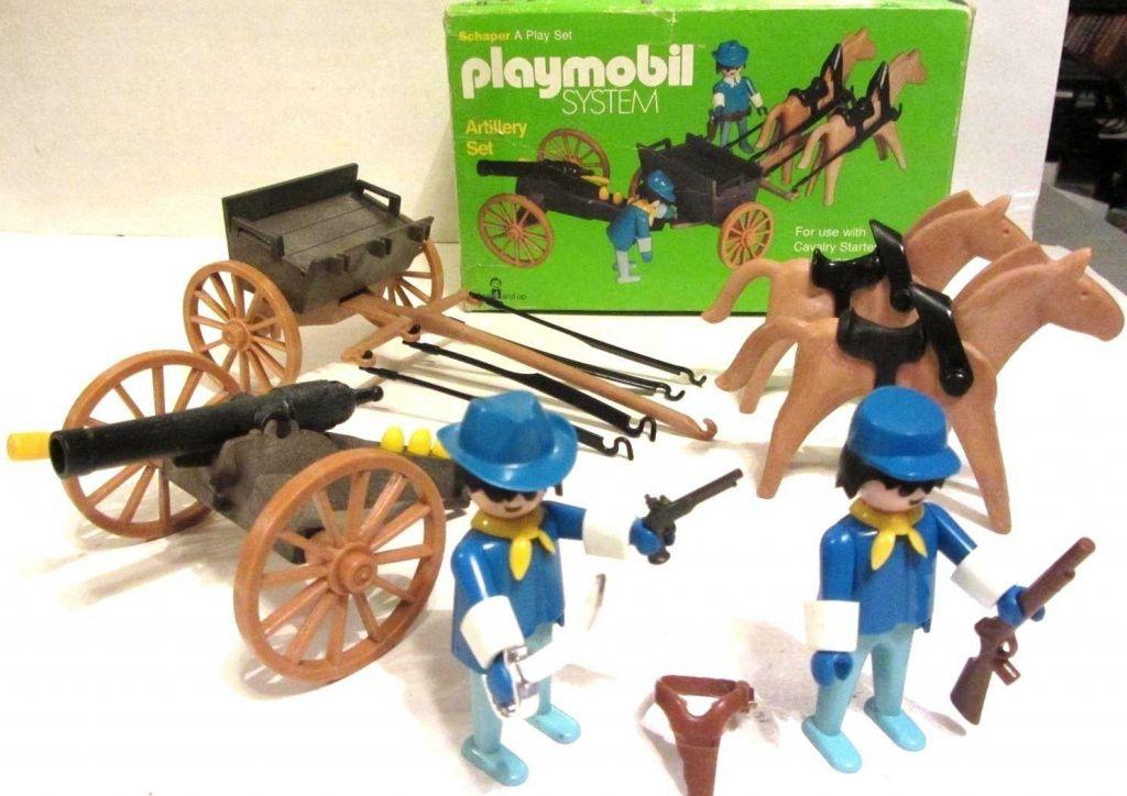 Playmobil 062-sch - Artillery Set - Back