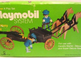 Playmobil - 062-sch - Artillery Set