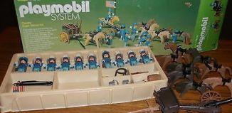 Playmobil - 064-sch - Cavalry Super Deluxe Set