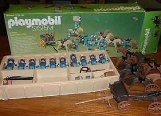 Playmobil - 064-sch - Cavalry Super Deluxe Set