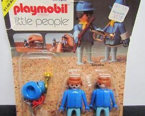 Playmobil - 069-sch - Cavalry Rack Pac