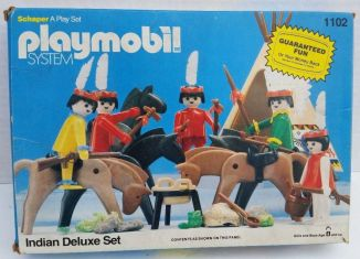 Playmobil - 1102v1-sch - Indian Deluxe Set