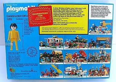 Playmobil 1202-sch - Construction Deluxe Set - Box