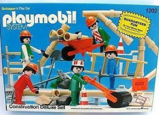 Playmobil - 1202-sch - Construction Deluxe Set