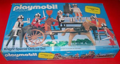 Playmobil 1303-sch - Knight Special Deluxe Set - Box