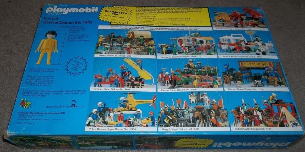 Playmobil 1503-sch - Farmer Special Deluxe Set - Box