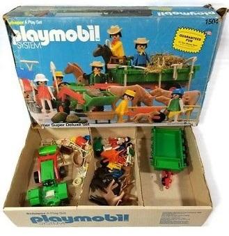 Playmobil 1504v2-sch - Farmer Super Deluxe Set - Back