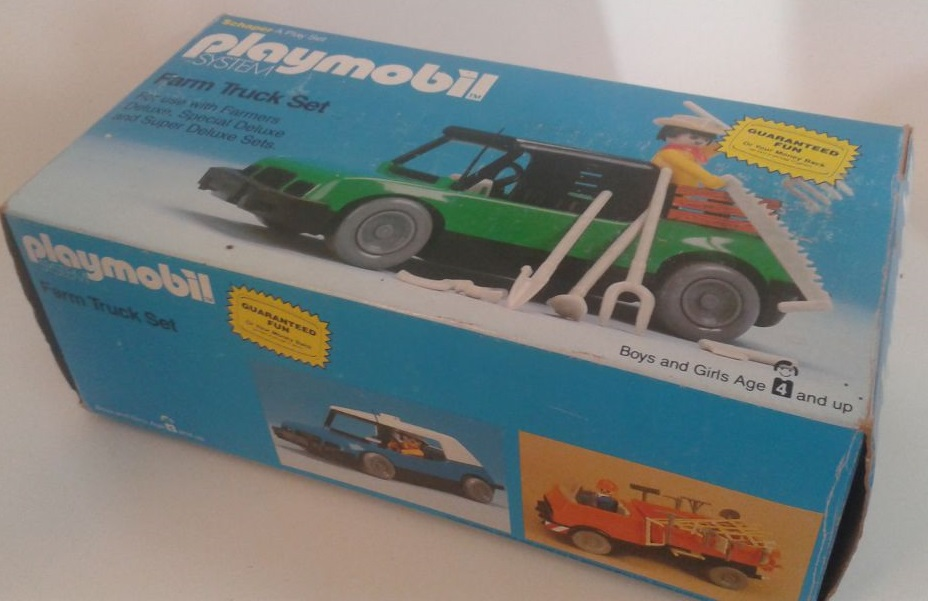 Playmobil 1508-sch - Farm Truck Set - Box
