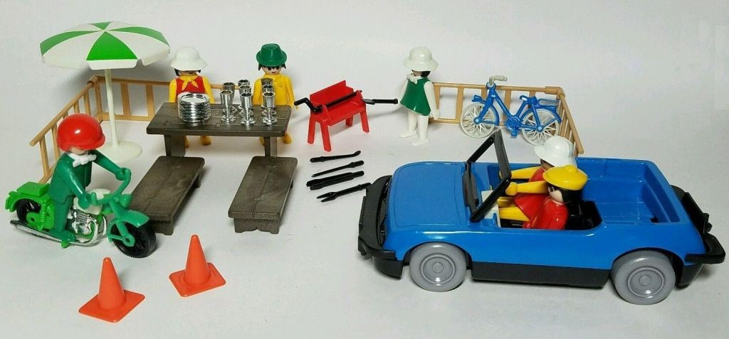 Playmobil 1603-sch - Vacationer Special Deluxe Set - Back