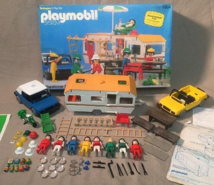 Playmobil 1604v1-sch - Vacationer Super Deluxe Set - Back