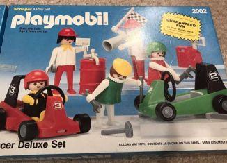 Playmobil - 2002v2-sch - Racer Deluxe Set