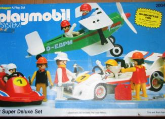 Playmobil - 2004-sch - Racer Super Deluxe Set