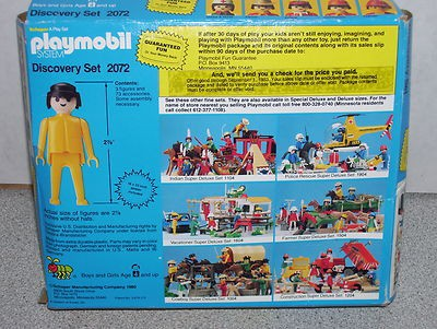 Playmobil 2072-sch - Discovery Set - Box