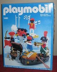 Playmobil 3480-sch - 4 pirates - Box