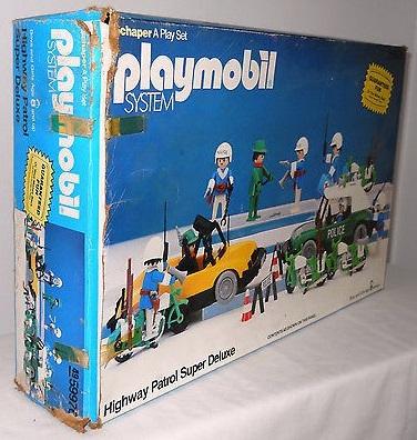 Playmobil 49-59976v1-sch - Highway Patrol Super Deluxe - Box