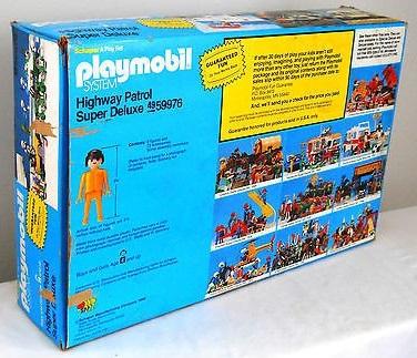 Playmobil 49-59976v1-sch - Highway Patrol Super Deluxe - Back