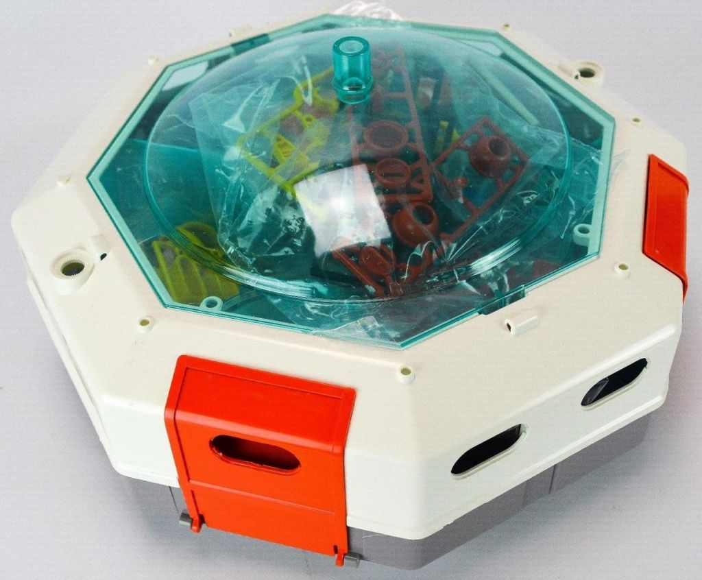 Playmobil 9733-mat - Space Station - Back