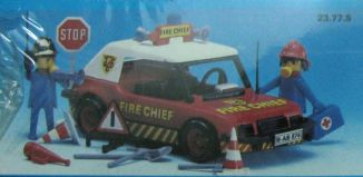 Playmobil - 23.77.5-trol - Fire chief car