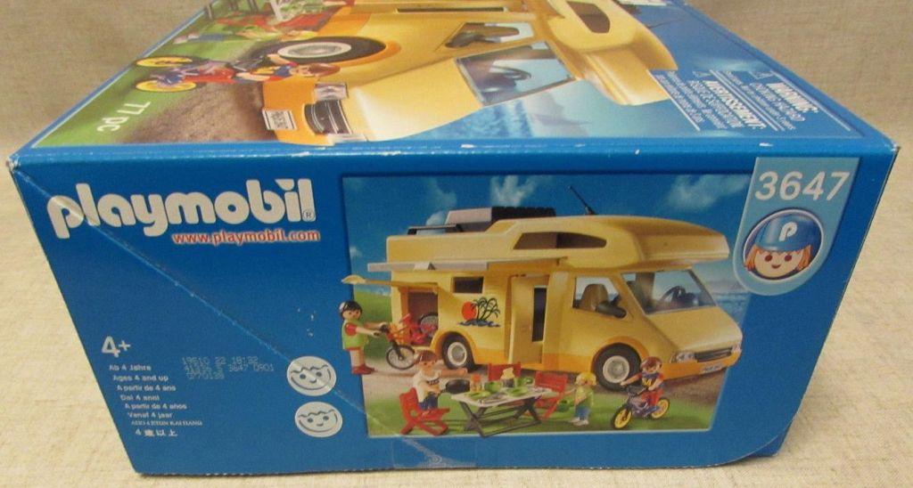 Playmobil 3647-usa - Family Camper - Box