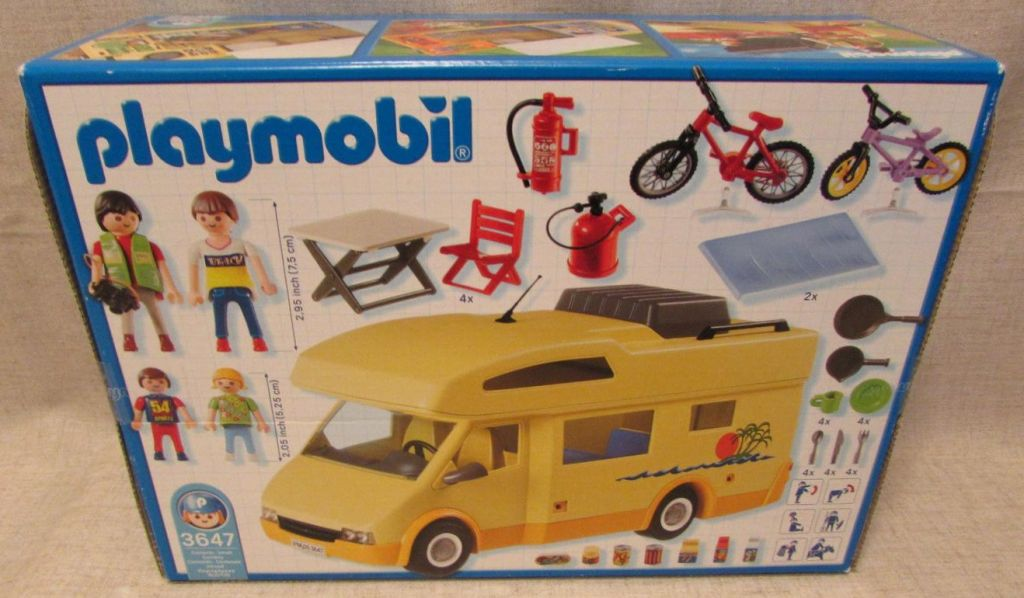 Playmobil 3647-usa - Family Camper - Back