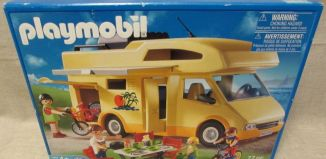 Playmobil - 3647-usa - Family Camper