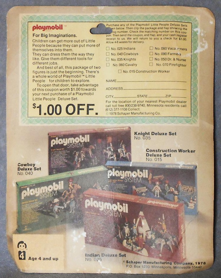 Playmobil 169-sch - Discovery Rack Pac - Box