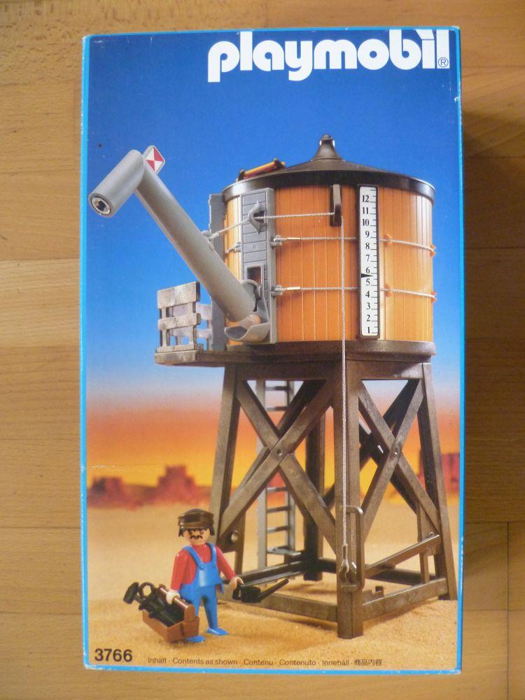 Playmobil 3766 - Water Tower - Box