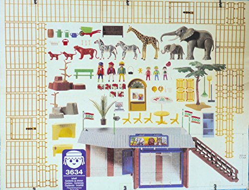 Playmobil 3634 - Little Zoo - Back