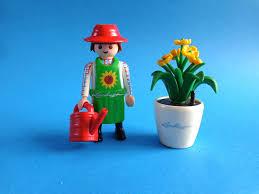 Playmobil - 30842050-ger - Gardener Owl with white pot