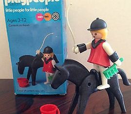 Playmobil - 1782/1-pla - Red horsewoman