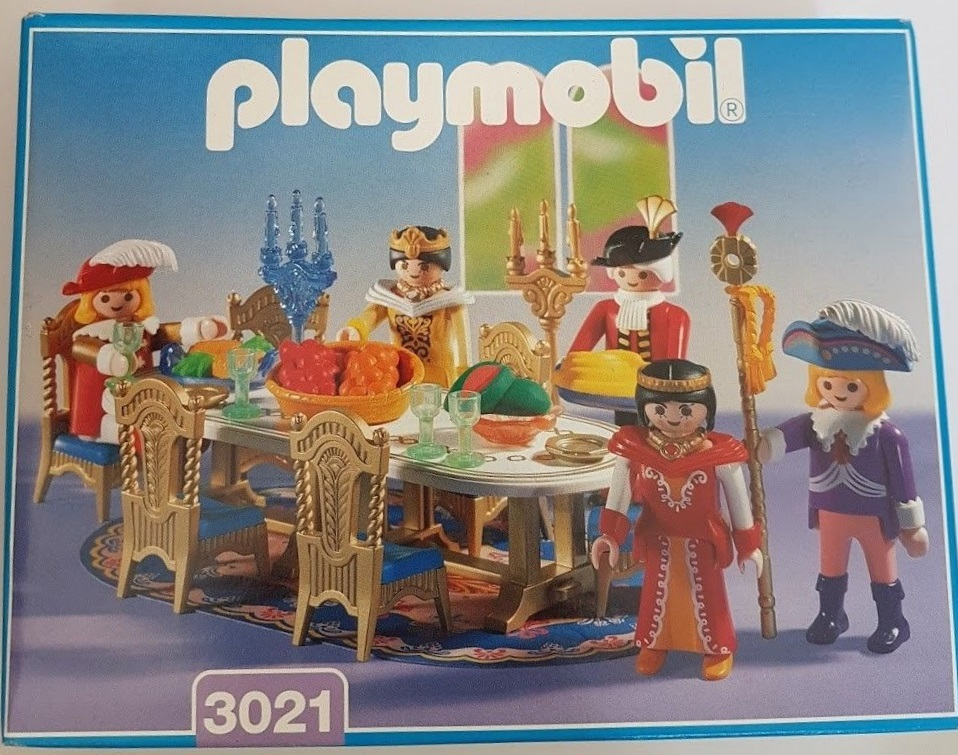 Playmobil 3021 - Festive Round Table - Box