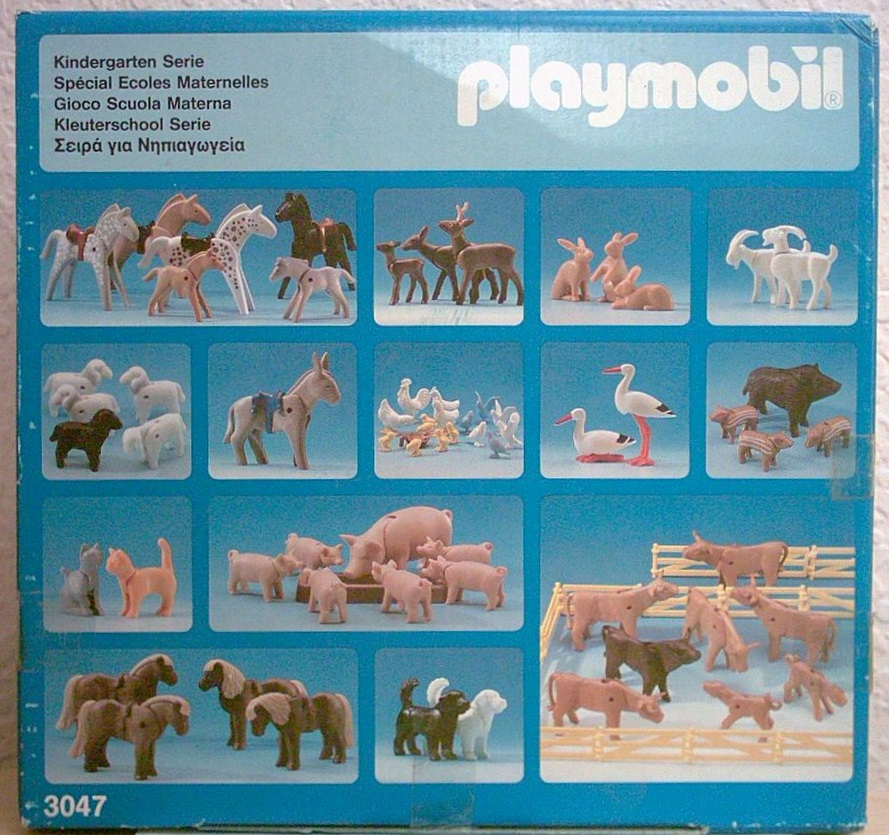Playmobil 3047 - Kindergarten Serie - Box
