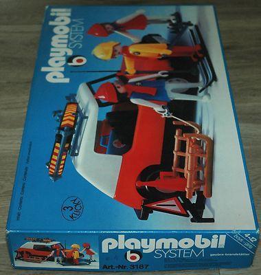 Playmobil 3187s1v1 - Winter Ski Trip - Box
