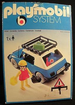 Playmobil 3210s2v2 - Blue Car - Box