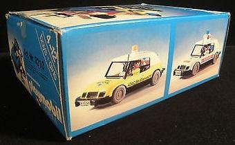 Playmobil 3210s2v2 - Blue Car - Back