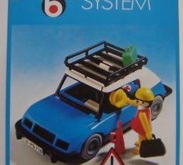 Playmobil - 3210s2v3 - Blue Car