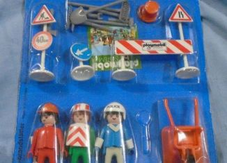 Playmobil - 3212s1v1 - Policeman & workers