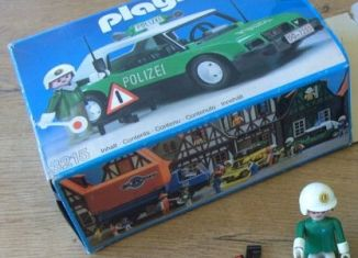Playmobil - 3215v3 - Police car